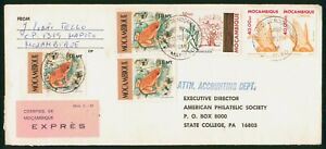 MayfairStamps Mozambique to State College Pennsylvania 1987 Cover wwp62345