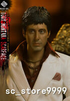 1/6Tth PRESENT TOYS Scarface Tony Montana Action Figure PT-sp15 Collectible Doll