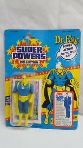 Vintage Super Powers Kenner DR FATE MOC Clark Kent offer 1985 complete