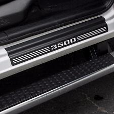 "Door Sill Plate Protectors ""3500"" fits Dodge Ram Truck 3500 2015 2016 2017"