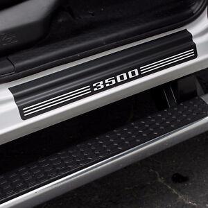 """Door Sill Plate Protectors """"3500"""" fits Dodge Ram Truck 3500 Quad Cab 2012 - 2021"""