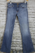 SEVEN 7 FOR ALL MANKIND Jeans A Pocket pink gems  Low Rise Tag=30 Actual=32x33