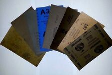 """Wet Dry Sandpaper Assorted (5.5"""" x 9"""") - 22 Sheets -"""