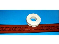 """Bike Chain Leather Emboss Roll High Impact Poly 5/8"""" Wide"""
