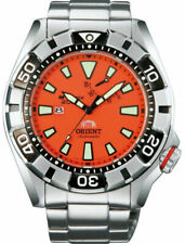ORIENT M-FORCE Power Reserve ISO 6425 Divers 200m Orange Watch EL03002M WV0031EL
