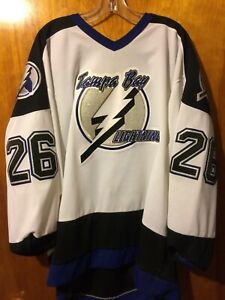 MARTIN ST. LOUIS TAMPA BAY LIGHTNING 2004 CCM JERSEY XL AWAY Original NHL