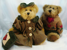 """Boyd's  ~  BAILEY & MATTHEW ... 8"""" Bears  *FALL 1997 L.E.*  NEW From Our Shop"""
