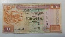 Hong Kong, $1000, 2000, HSBC, P-206a, Lion, Scarce Date