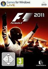 PC Computer Spiel ***** F1 2011 * Formel 1 2011 * Formula one 11 ********NEU*NEW