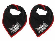 2 x Tommee Tippee Scallyrocka Cotton Bandana Bib Boy Design 100% Brand New