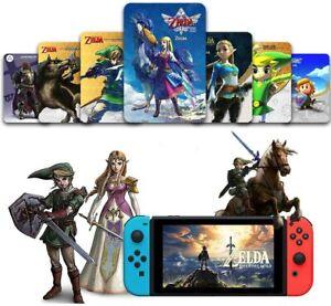 25 PCS Newest Zelda Breath of the Wild Amiibo NFC Cards Tag BOTW For Switch WiiU