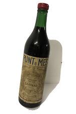 Carpano Punt e Mes Torino, Vermuth Rosso 1L Anni 40s/50s bottiglia da collezione