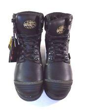 Oliver Men's Work Boots Steel Toe Black Sz 8-1/2