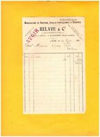 """LYON-VAISE (69) USINE GANTERIE / GANTS & ECHARPES """"RELAVE"""" en 1916"""