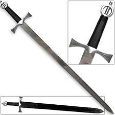 Celtic Warrior Irish Ring Medieval Gaelic Warfare Sword Knightly Broadsword