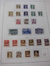 Sammlung, Schweiz gestempelt, aus 1907-1939, mit vielen Untertypen (1320)