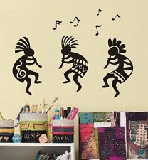 SOUTHWEST KOKOPELLI Race Tribe Celebrate Music Vinyl Decal Wall Quote Sticker