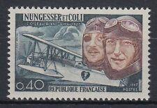Frankreich France 1967 ** Mi.1580 Nungesser Coli Piloten Pilots [st0162]