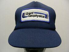 Grant Geophysical - M/L taille camionneur style Casquette Snapback boule chapeau