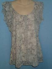 Temt Gorgeous Ladies Flower Print Blouse, Size 12 - BRAND NEW!