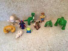Disney Pixar Toy Story Figure Bundle Woody Rex Big Baby Chunk Hamm Bullseye
