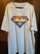 VINTAGE ANIMATED SUPERMAN  T-SHIRT , SIZE XL , Ex Shop stock