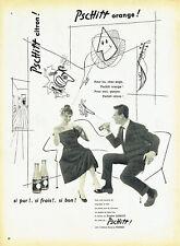 Publicité Advertising 107  1955   soda Pschitt de Perrier & Brigitte Bardot