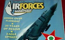 Air Forces Monthly Magazine 1989 May Hungarian Air Force,Canberra,Hind,RAF SAR
