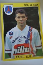 PANINI VIGNETTE STICKERS FOOTBALL FOOT 92 N°211 PSG PARIS PAUL LE GUEN