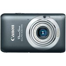New Canon PowerShot ELPH 100 HS 12.1 MP CMOS 4X Optical Zoom Digital Camera Gray