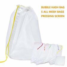 ZCONIEY Bubble Hash Bag 5 Gallon All Nylon Mesh (5 Gallon 5 Bubble Bag Kit)