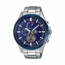 Casio Edifice Blue & Silver Stainless Steel Men's Watch - EFV-520RR-2AVUEF
