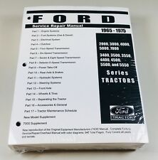 ford 2000 3000 4000 5000 7000 (3400-5550) tractor service shop manual 1965