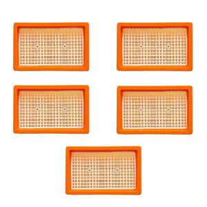 5x Original Flachfilter für KÄRCHER wie 2.863-005.0 MV 4 5 6 P WD4 Premium SET