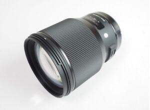 SIGMA Large Diameter Medium Telephoto Lens Art 85mm F1.4 DG Canon Full-Frame