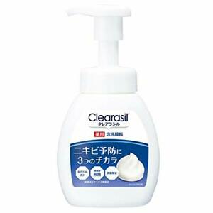 Clearasil Acne Care Face Wash Foam 200ml From Japan