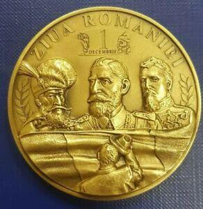 Romania GREAT UNION WW1 Romanian grand MEDAL 1918 Transylvania 100pcs Rare
