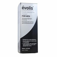 Brand New Evolis Hair Growth Tonic for Men 50ml - BEST PRICE! - Free Postage