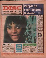 Disc and Music Echo October 17 1970 Melanie EX 120215DBE2