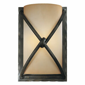 Minka Lavery ML 1974-1 Bronze 1-Light Wall Sconce From The Aspen Collection
