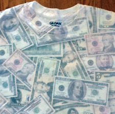 Cash Money Print T-shirt 2XL