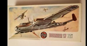 Airfix Dornier 17 Airfix No. 494 1:72 Roy Cross Artwork like new 1972 sealed