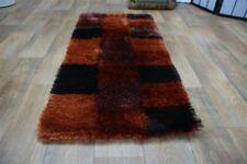 SF-0099 Hochflor Teppich Shaggy ORANGE  handarbeit Design ca 142 x 70 cm Neuware
