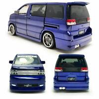 Nissan Elgrand MPV 1:32 Die Cast Modellauto Spielzeug Model Sammlung Blau