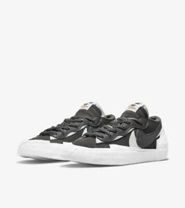 Nike Blazer Low x sacai Iron Grey - EU45/US11