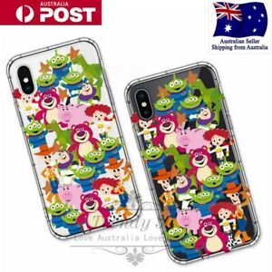 Disney Pixar Toy Story Alien Woody TPU Soft Case Cover For IPhone 7/8/Plus/X/XS