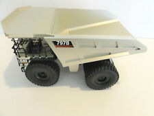 """NZG CAT 797B Mining Truck """"PALE GOLD"""" 1:50 HUGE """"NO RESERVE"""" for PARTS/REPAIRS"""