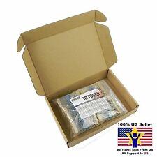 50value 500pcs 1/2W Metal Film Resistor Assortment Kit US Seller KITB0080