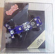 QUARTZO TYRRELL 001 1:43 SCALE ~ JACKIE STEWART 1970 USA GP ~ BLUE No 1