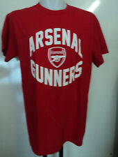 ARSENAL BOYS RED COTTON TEE SHIRT SIZE 7-8 YEARS OFFICIAL MERCHANDISE BRAND NEW